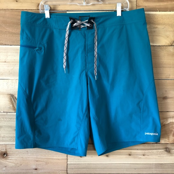 Patagonia Other - Patagonia teal blue board shorts 2192